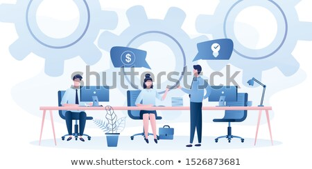 Organization of Working Process and Workspace Stock photo © robuart