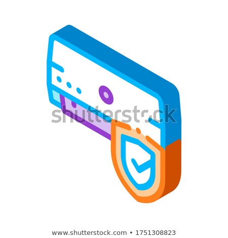 Broken Conditioner System isometric icon vector illustration Stock photo © pikepicture