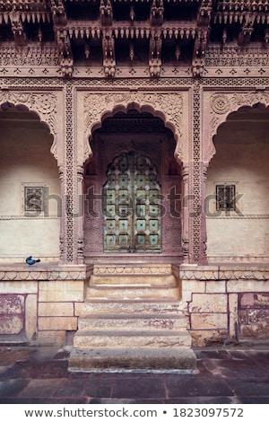Fort Indië voorbeeld architectuur deur Stockfoto © dmitry_rukhlenko