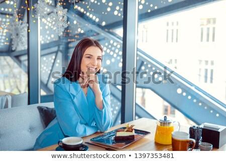 空想 ヒスパニック 女性 学生 表 ストックフォト © feverpitch