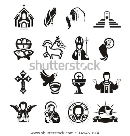 old religious icon Stock photo © smithore