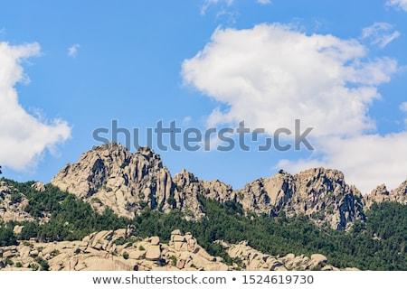 Manzanares el Real near Madrid, Spain Stock photo © Nobilior