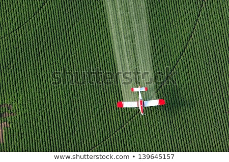 crop dusting stock photo © stevemc