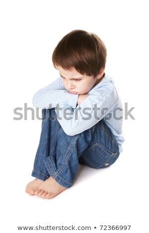 Portrait of a pouting boy Stock photo © photography33