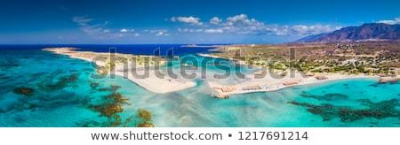 lagoon balos gramvousa crete greece stock photo © tannjuska