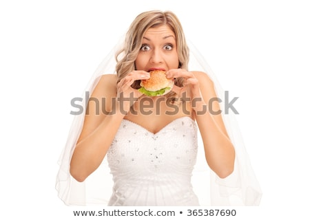 Bride looking surprised Stock photo © photography33
