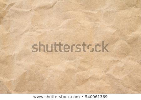crumpled brown paper stock photo © witthaya
