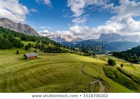 лет пейзаж долины небе дороги природы Сток-фото © Antonio-S
