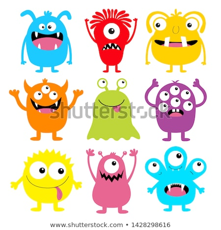 funny monster stock photo © rastudio