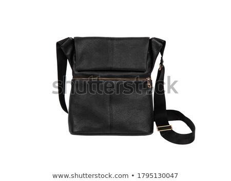 Men's stylish small handbag. Stock photo © shutswis