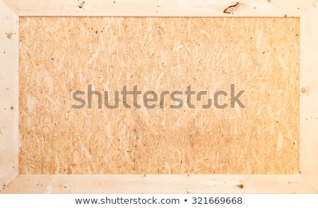 close up of a recycle compressed wood surface stock photo © zhukow