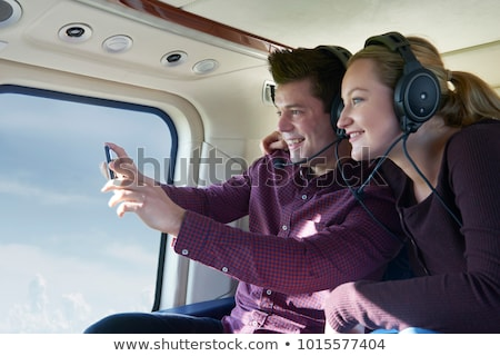 Helicopter Ride Stock photo © cteconsulting