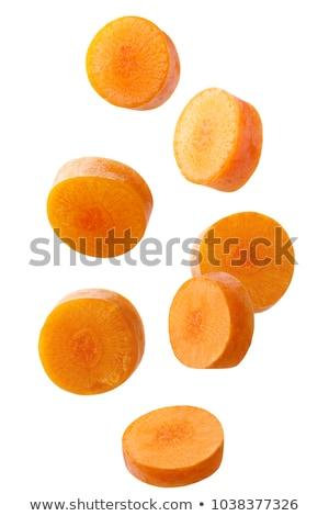 cutting carrots stock photo © luminastock