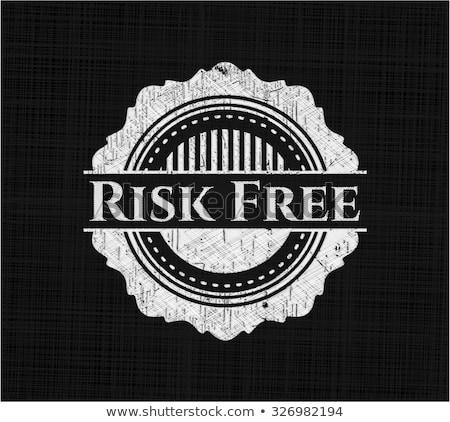 Risk Free Guarantee Chalk Illustration Stock photo © kbuntu
