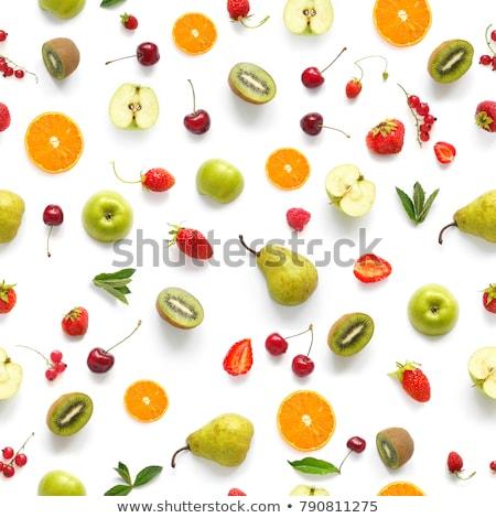 Fresco frutas laranja grupo Foto stock © marcelozippo