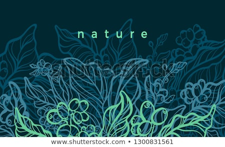 branches with yield nature background Stock photo © goce