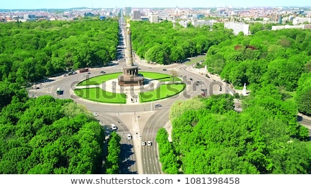 the victory column in berlin germany stock photo © photocreo