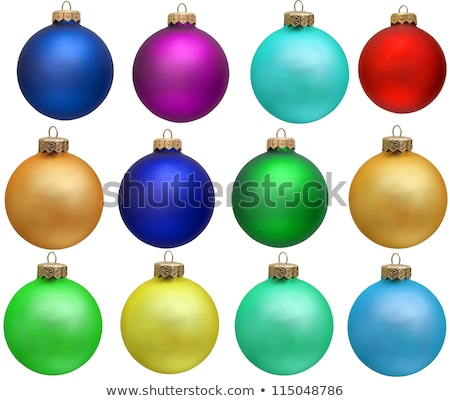 christmas ornaments violet Stock photo © Tomjac1980