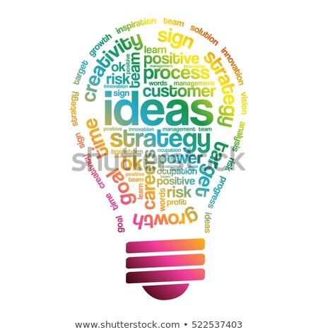 Planning. Wordcloud Concept. Stock photo © tashatuvango
