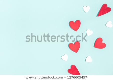 moderno · corações · projeto · casamento · coração · fundo - foto stock © shawlinmohd