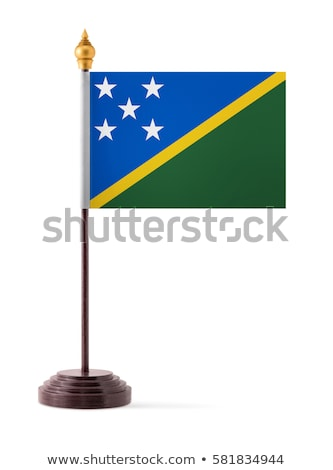 Miniature Flag of Solomon Island Stock photo © bosphorus