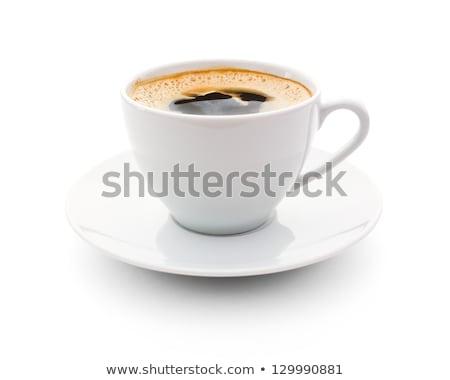 Café expresso isolado branco café grupo Foto stock © bmonteny