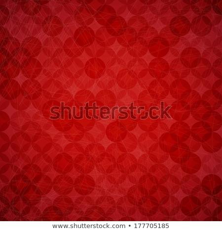 Lüks kırmızı bağbozumu stil özel model Stok fotoğraf © liliwhite
