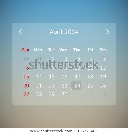 ニュース · デザイン · 長い · 影 · 青 · 金融 - ストックフォト © tashatuvango