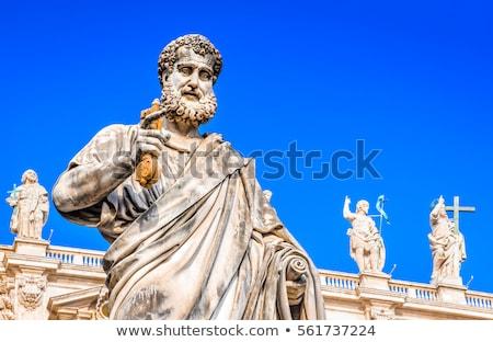 Ватикан · святой · статуя · здании · Церкви · архитектура - Сток-фото © tilo