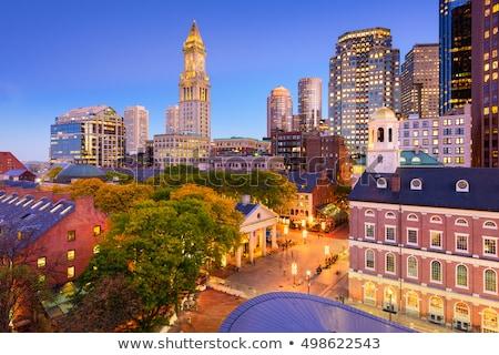Boston salon Massachusetts ABD gökyüzü Stok fotoğraf © lunamarina