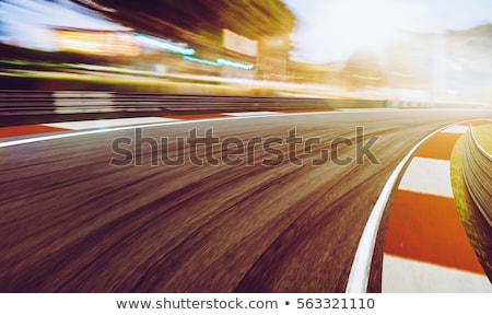 üveg fém fekete arany verseny motor Stock fotó © shawlinmohd