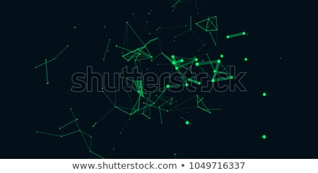 superfície · rede · abstrato · digital · 3d · render · ilustração - foto stock © teerawit