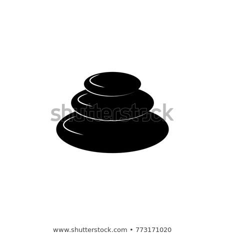 graniet · piramide · klein · rock · blokken · steen - stockfoto © mady70