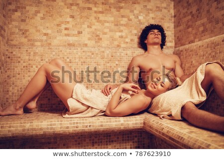 couple in turkish bath Stock photo © adrenalina