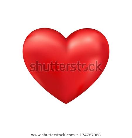 Rood hart helling voorraad vector gelukkig Stockfoto © punsayaporn