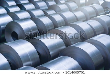 Steel coil in warehouse Stock photo © mady70