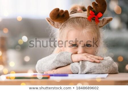 harfler · noel · baba · Noel · yılbaşı · tebrik · kartı · beyaz - stok fotoğraf © ozgur