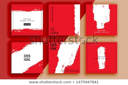 mega sale poster banner template design Stock photo © SArts