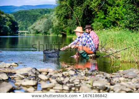 Nice catch. stock photo © Fisher