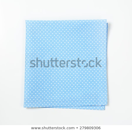 dotted turquoise place mat Stock photo © Digifoodstock