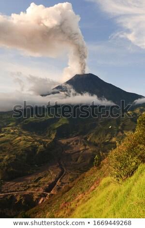 Steam from an active volcano Stock photo © wildnerdpix