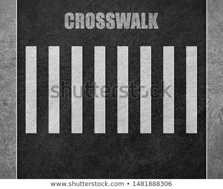 Asfalt beyaz hat doku soyut sokak Stok fotoğraf © Zerbor