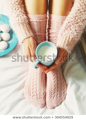 クッキー ミルク 食品 セット アップ コーヒー ストックフォト © Walmor_