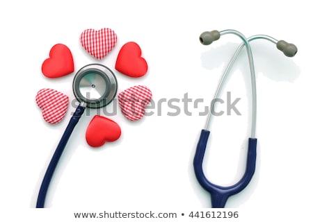 Diaphragm of medical stethoscope Stock photo © magraphics