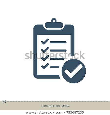 Ikon grafik tasarım şablon vektör yalıtılmış Stok fotoğraf © haris99