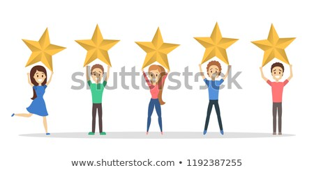 предпринимателей удовлетворенный обзор положительный Сток-фото © pressmaster