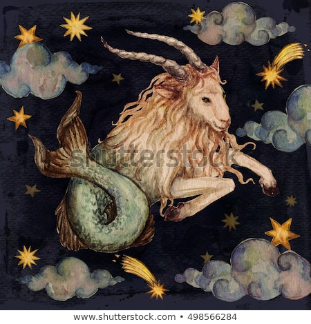 Color Zodiacs capricorn Stock photo © cidepix