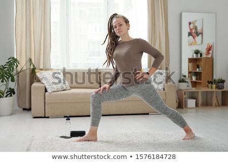Jovem descalço mulher pernas Foto stock © pressmaster