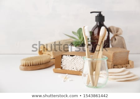 Zero waste natural accessories for cleaning Stock photo © furmanphoto