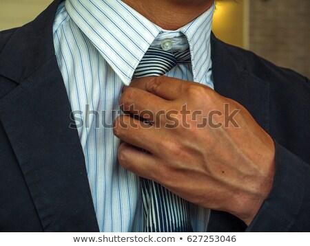 empresario · primer · plano · caucásico · manos - foto stock © iofoto